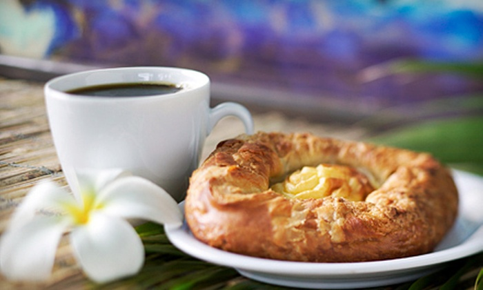 The Floral Grind Coffeehouse - Fairdale: 5 or 10 Drink-and-Pastry Combos at The Floral Grind Coffeehouse in Fairdale (Up to 56% Off)