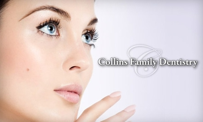 Collins Family Dentistry - Multiple Locations: $79 or $93 for Dental Services at Collins Family Dentistry. Choose Between Two Options.