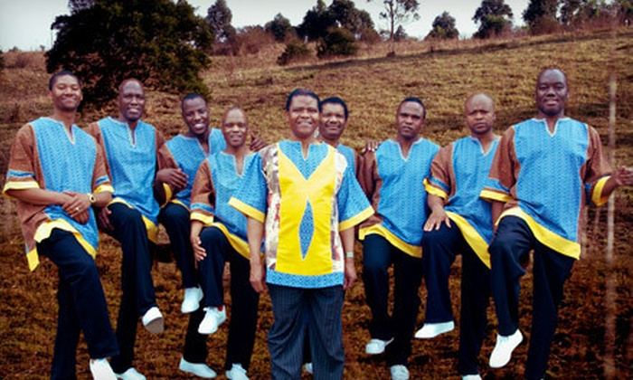 Ladysmith Black Mambazo - Downtown Vancouver: $25 for a Ladysmith Black Mambazo Concert at The Vogue Theatre on March 8 at 7:30 p.m. (Up to $49.78 Value)