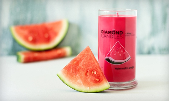 Diamond Candles: $15 for $30 Worth of All-Natural Soy Candles with Embedded Wearable Rings from Diamond Candles