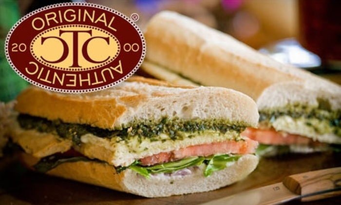 The Cheese Course - Multiple Locations: $10 for $20 Worth of Specialty Cheeses, Bistro Sandwiches, and Salads at The Cheese Course