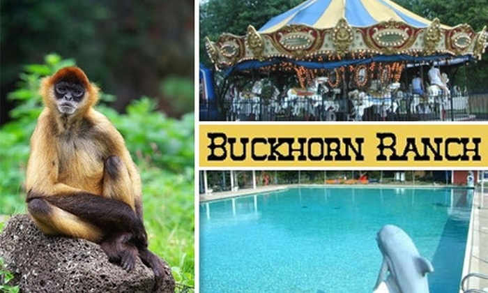Buckhorn Ranch - Lincoln Park Farms: $10 for One General Admission and 10 Tokens at Buckhorn Ranch ($23 Value)