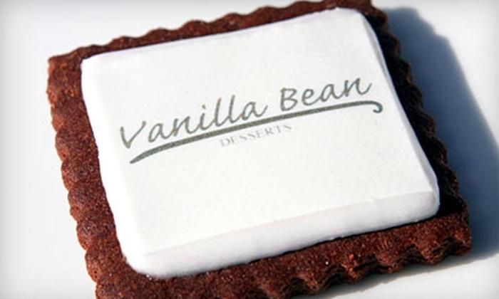 Vanilla Bean Desserts: $10 for $20 Worth of Gourmet Treats from Vanilla Bean Desserts