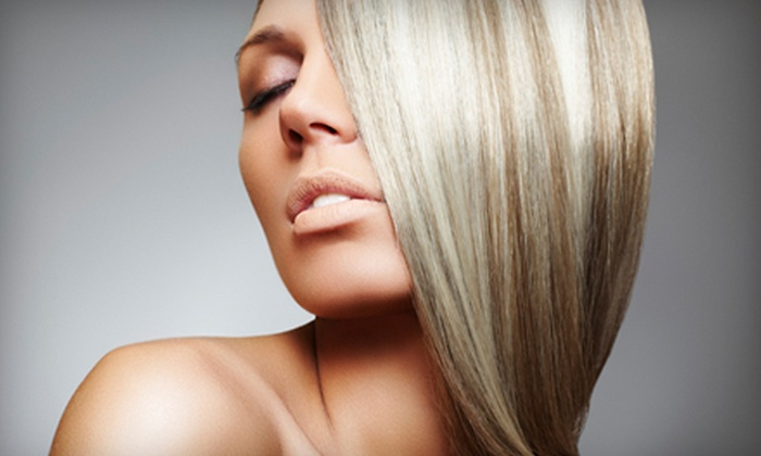 Park Avenue Salon and Spa - Hershey: $45 for a Haircut and a Partial Highlight or Lowlight at Park Avenue Salon and Spa in Hershey ($95 Value)