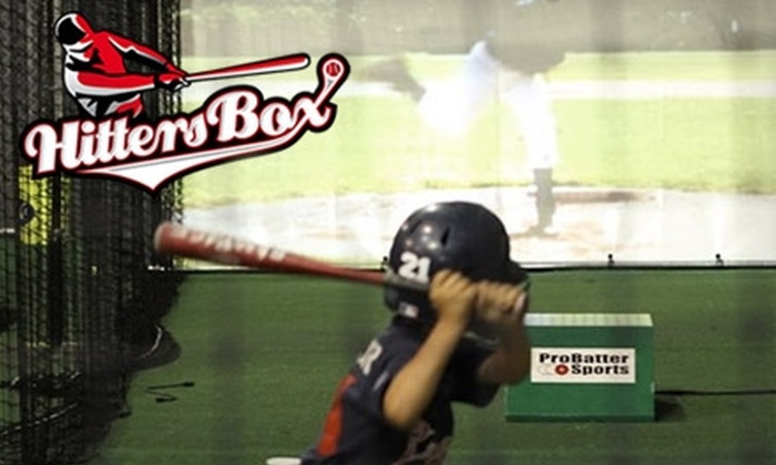 HittersBox - Suwanee-Duluth: $25 for a 60-Minute Professional Baseball Training Session and Video Analysis ($90 Value)