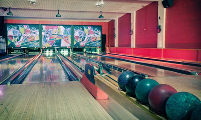 The Alley - Highwood: $25 for Two Hours of Bowling for Up to Six with Shoe Rentals, Pizza, and Soda at The Alley (Up to $201 Value)