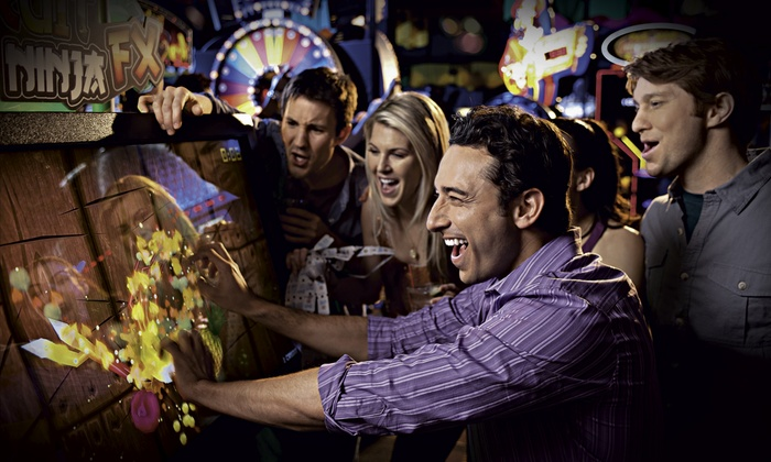Dave & Buster's - Maryland Heights: All-Day Simulator Play and 30 Game Chips for Two or Four at Dave & Buster's (Up to 74% Off)