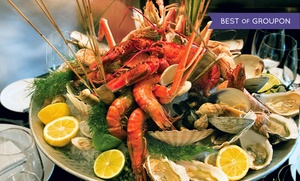 Fifer's Seafood: Casual Seafood at Fifer's Seafood (Up to 45% Off). Two Options Available.