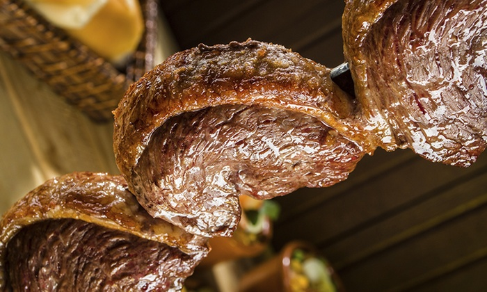 Chamas Do Brazil - Southwest Arlington: Brazilian Steakhouse Dinner for Two or Four at Chamas Do Brazil (Up to 31% Off)