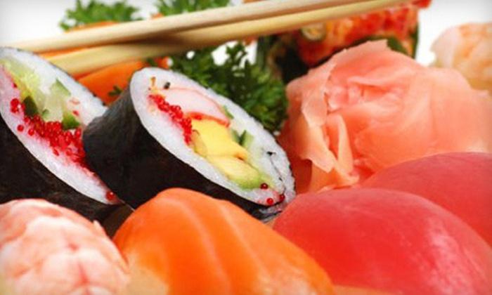 SushiGo - Ottawa: Sushi for One or Two at SushiGo (Up to 54% Off)