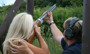 Sycamore Shooting Grounds: Clay Pigeon or Rifle Shooting Experience for One or Two at Sycamore Shooting Grounds