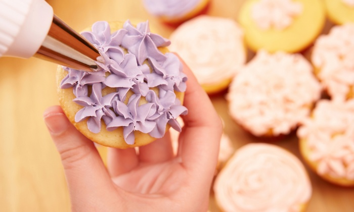 Cake Carousel - Southeast Arlington: Cookie or Cake-Pop Decorating Class for One or Two at Cake Carousel (Up to 57% Off)