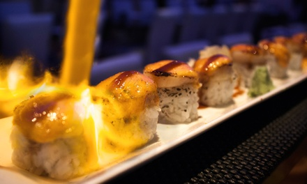 Japanese Cuisine and Sushi at Dinner at Soya Sushi Bar & Bistro (50% Off). Two Options Available.