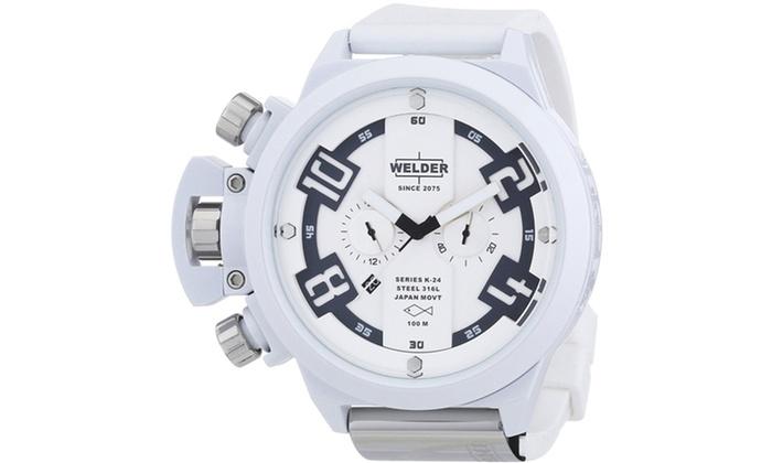 Welder by U-Boat Men's Oversize Watches: Welder by U-Boat Men's Oversize Watches. Multiple Styles Available.