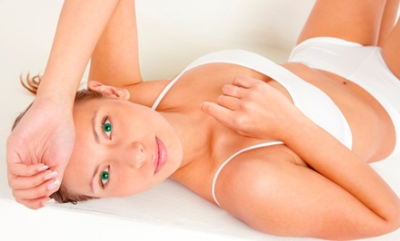 Six Laser Hair-Removal Treatments at SLC Med Spa (Up to 74% Off). Four Options Available.