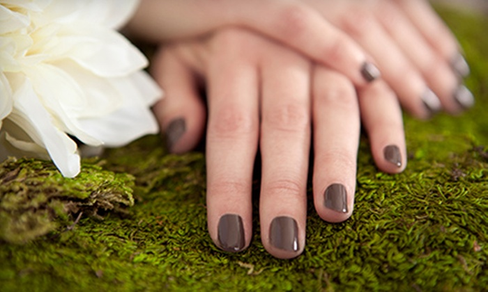 Casa Bella Salon and Spa - Wines: Two Shellac Manicures or One Shellac Mani-Pedi at Casa Bella Salon and Spa (Up to 65% Off)