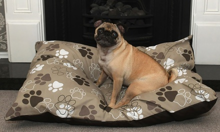 Washable DeepFilled Dog Bed in Choice of Colour