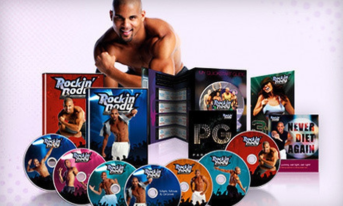Shaun T's Rockin' Body Workout Set: $20 for Shaun T's Rockin' Body Seven-Workout DVD Set ($59.85 Value)