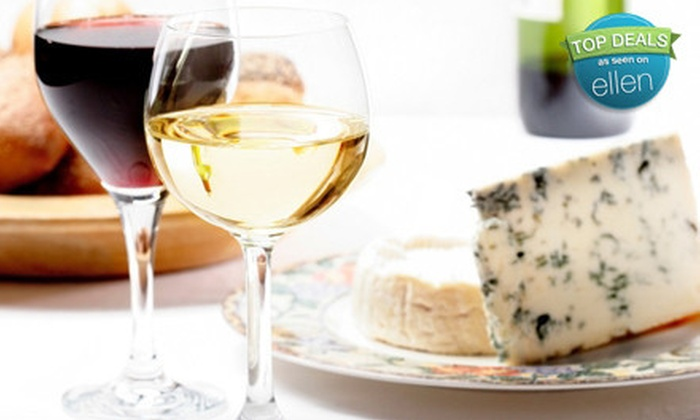 Bellavino Wine Bar - Thousand Oaks: $25 for a Wine Flight and Gourmet Cheese Plate for Two at Bellavino Wine Bar ($56 Value)