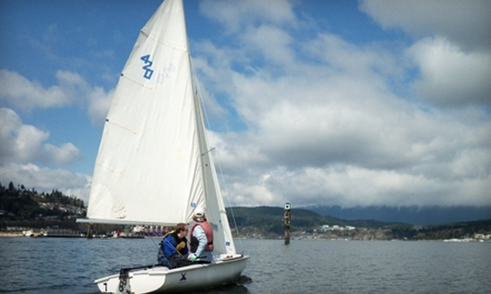 Rocky Point Sailing Association - Port Moody: $40 for a Two-Hour Sailing Lesson from Rocky Point Sailing Association in Port Moody ($80 Value)