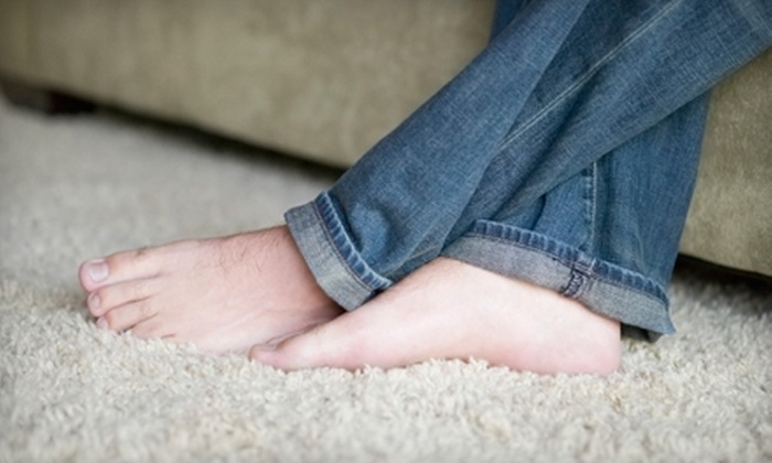 Oxi Fresh Carpet Cleaning - Jefferson: $59 for Two Rooms of Carpet Cleaning and Two Rooms of Protectant Application from Oxi Fresh ($120 Value)