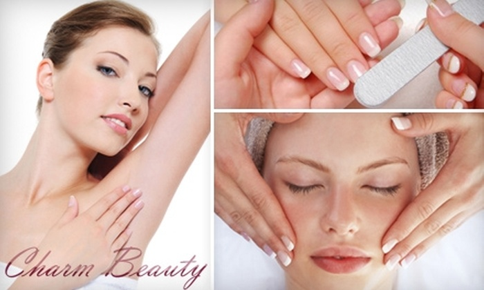 Charm Beauty Salon - Gravesend: $99 for Six Laser Hair-Removal Treatments or $40 for Deep-Cleansing Facial at Charm Beauty Salon