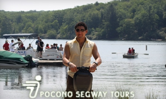 Pocono Segway Tours - Kidder: $21 for a 75-Minute Segway Tour of Split Rock Resort from Pocono Segway Tours in Lake Harmony ($45 Value)