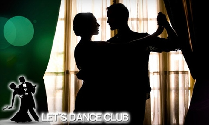 Let's Dance Club - Washington: $70 for Three Private Lessons and Two Group Lessons at Let's Dance Club ($140 Value)