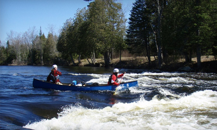 Pure Life Adventures - Ladysmith: One-Day Leisurely Canoe Trip for Two or Two-Day Guided White Water Canoe Trip for One from Pure Life Adventures in the Pontiac
