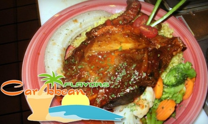Caribbean Flavors - Lawrenceville: $10 for $20 Worth of Island Fare and Drinks at Caribbean Flavors in Lawrenceville