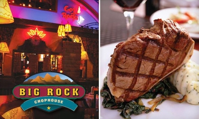 Big Rock Chophouse - Birmingham: $75 for Two Tickets to Big Rock Chophouse's October Strolling Dinner ($150 Value)