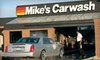 "Mike's Express Car Wash - Beavercreek: $20 for Three ""The Works"" Car Washes at Mike's Express Car Wash ($45 Value)"