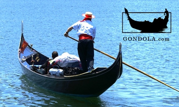 Gondola Adventures, Inc. - Newport Beach: $59 for a One-Hour Gondola Ride for Two People on Newport Harbor from Gondola Adventures, Inc. ($135 Value)