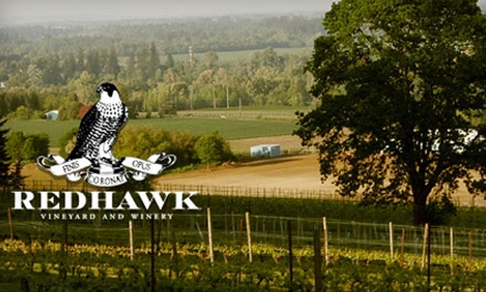 Redhawk Vineyard & Winery - West Salem: $5 for a 10-Flight Wine Tasting for Two, plus 25% off Purchases at Redhawk Vineyard & Winery ($10 Value).