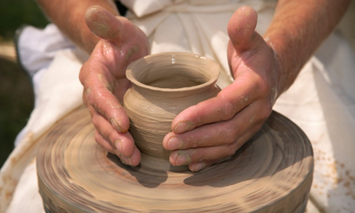 Lambda Pottery - Houston: $55 for a Two-Hour Pottery Workshop for Two at Lambda Pottery in Humble ($110 Value)