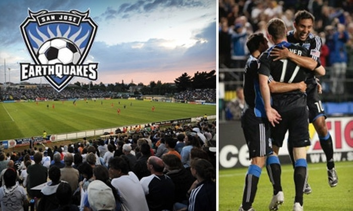 San Jose Earthquakes - Santa Clara: $25 for One Center Circle Ticket to a San Jose Earthquakes Game, Two Coronas and Official Team T-Shirt ($57 Total Value).