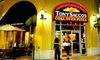 Tony Sacco's Coal Oven Pizza - Fort Myers: $20 for $40 Worth of Fresh Italian Fare at Tony Sacco's Coal Oven Pizza
