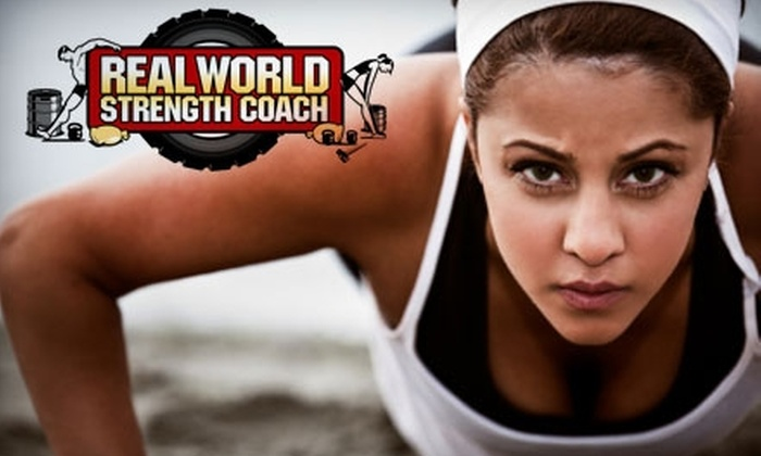 Real World Strength Coach - Manayunk: $39 for One Month Unlimited Boot-Camp Classes Plus Meal Plan and Grocery-Store Tour with Real World Strength Coach