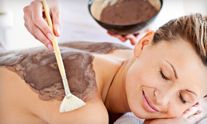 Spa Salute' - North Burnet: $95 for a Delicious Chocolate Body Wrap with a Sugar Body Polish at Spa Salute' ($195 Value)