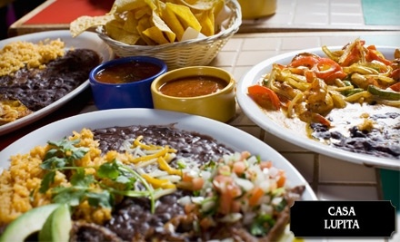 $16 Groupon to New Casa Lupita - New Casa Lupita in White Bear Lake