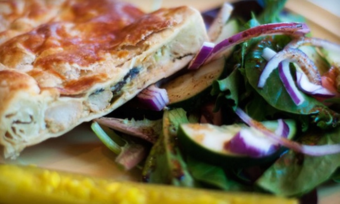 The Savory Street Café & Bakery - Rosemary District: $12 for Breakfast, Lunch or Brunch for Two at The Savory Street Café & Bakery in Sarasota (Up to $26.90 Value)