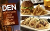 The Den on Sunset - Hollywood: $25 for $50 Worth of Fancy Pub Grub and Refined Drinks at The Den of Hollywood