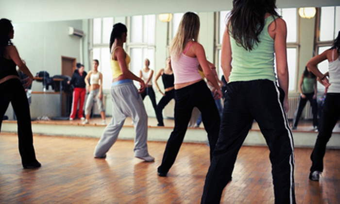 Elite Ballroom Studio - Central San Jose,Sunol-Midtown: Five Salsa or Zumba Classes or Five Intermediate Hustle Group Dance Classes at Elite Ballroom Studio (Up to 67% Off)