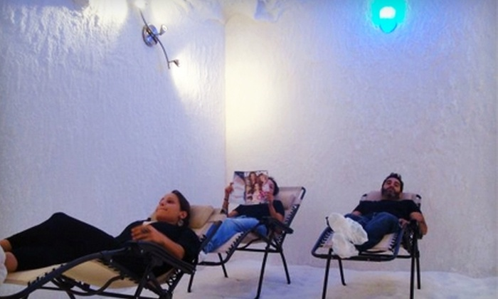 Salt Chalet - Encino: $45 for Three Salt-Air Treatments at Salt Chalet in Encino ($165 Value)