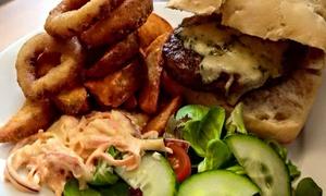 Bank Coffee House Swinton: Burger Meal and Drink For Two (£10) or Four (£20) at Bank Coffee House Swinton