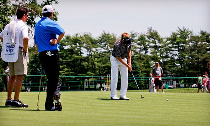 CVS Caremark Charity Classic - Multiple Locations: CVS Caremark Charity Classic PGA Challenge Event in Barrington (Up to 52% Off). Three Options Available.