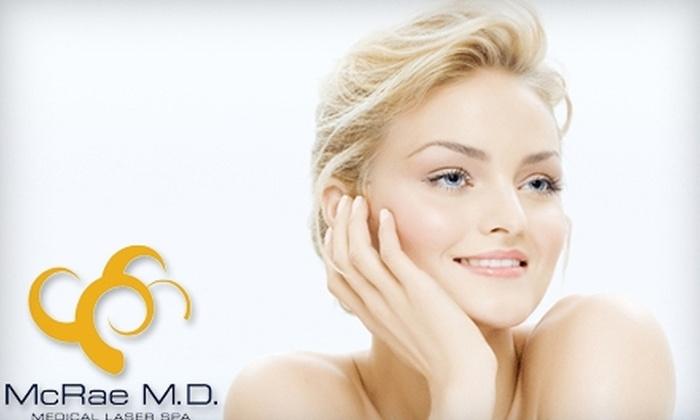 McRae MD Medical Laser Spa - Downtown Boerne: $89 for a Laser Genesis Facial Treatment at McRae MD Medical Laser Spa in Boerne ($200 Value)