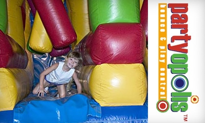 Partyopolis - Lake Forest: $25 for 10-Visit Jump Zone Pass to Partyopolis in Lake Forest ($60 Value)