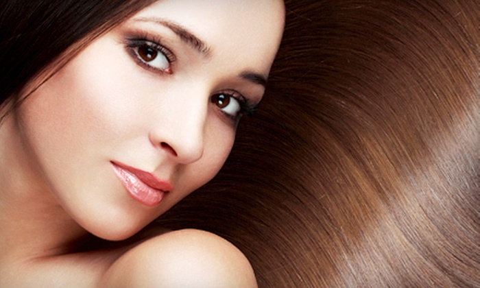Joey & Roman Salon - Symmes: Hair Treatments at Joey & Roman Salon (Up to 60% Off). Four Options Available.