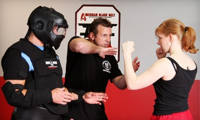 American Black Belt Academy - Athens: Women's Self-Defense Class at American Black Belt Academy. Two Options Available.